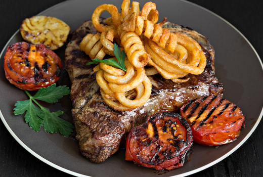 Dinner on ludlow steak frites