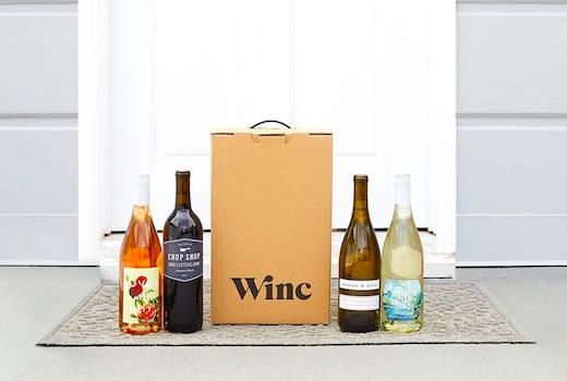 Winc boxe door bottle bright