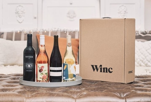 Winc upfront love selection