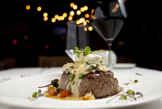 Cesca steak wine