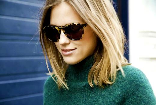 Studio 19 blode hair sunglasses new cut lobe