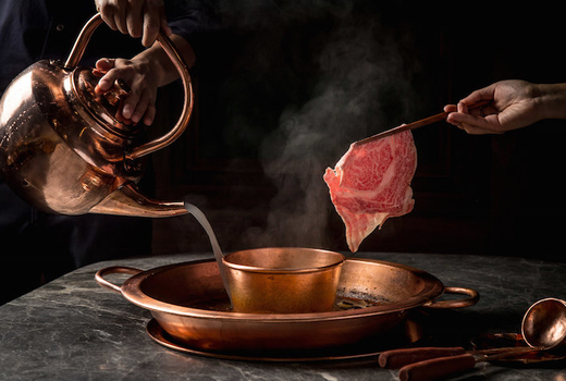 Tang hotpot cook meat