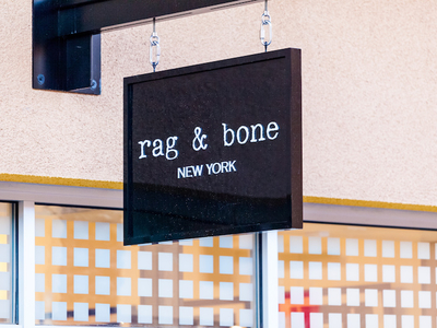 Rag bone sign
