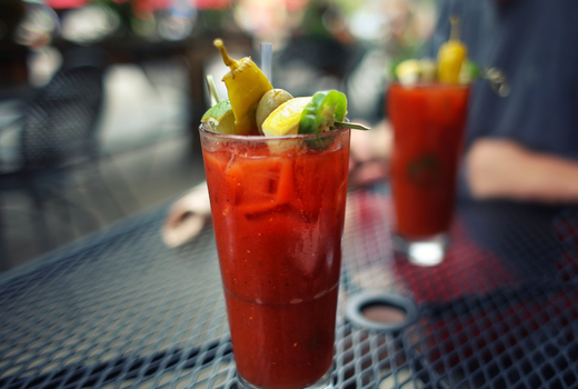 Bazar bloody mary outside
