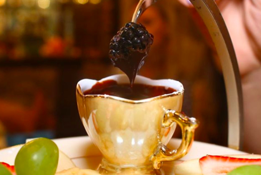 Mariebelle hot chocolate dip
