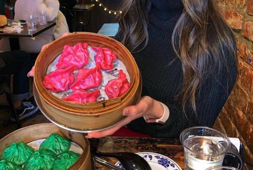 Drunken dumpling colors