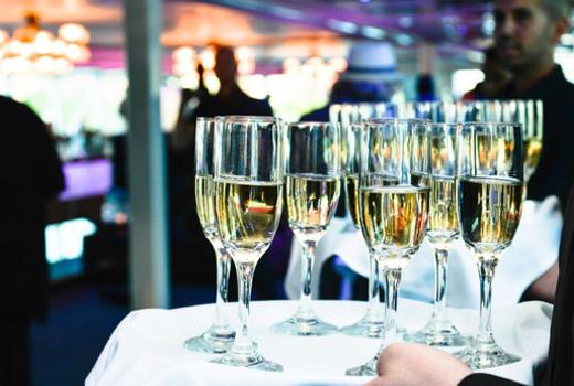 Hornblower champagne