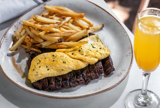 Dia steak egss option 2