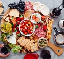 Charcuterie masters 2019 spread wine