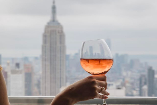 Ny drinks ny rainbow room view rose