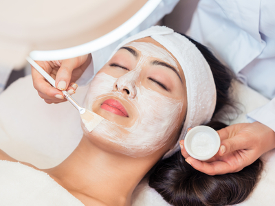 Candy spa facial mask paint nyc