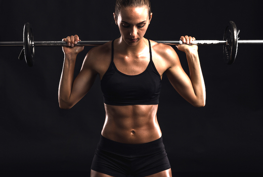 Evolve fitness abs woman strong