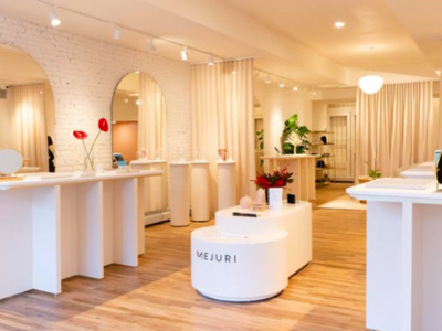 Mejuri showroom inside