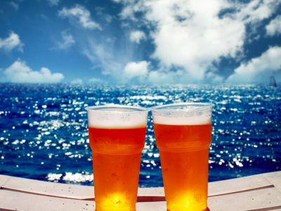 Manhattan by sail 2019 boat beers ocean