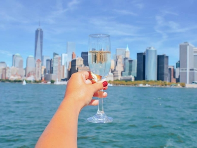 Horblower cruises champagne skyline nyc