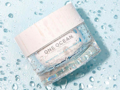 One ocean beauty cream popup