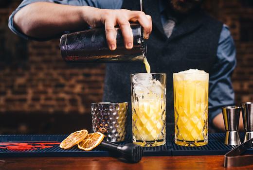 Ama casino night cocktails drinks yum
