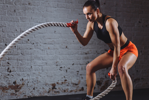 Crossfit spot nyc woman fitness ropes