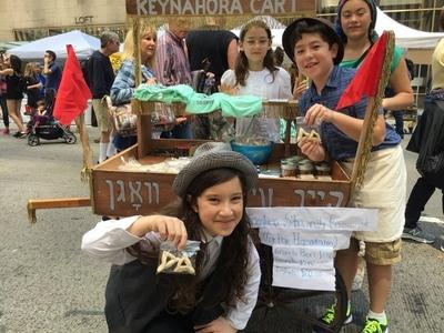 Annual taste of jewish culture street festival