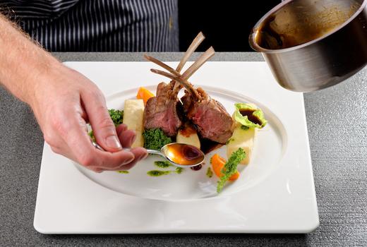 Le reve lamb chops wow chef yum