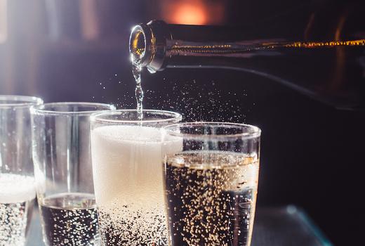 Flute champagne pour bubbles