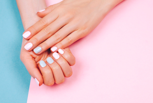 Eruan salon spa nails cute colors love1