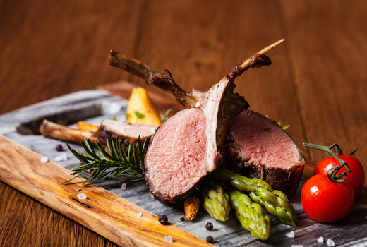 Thalassa pork chops red juicy