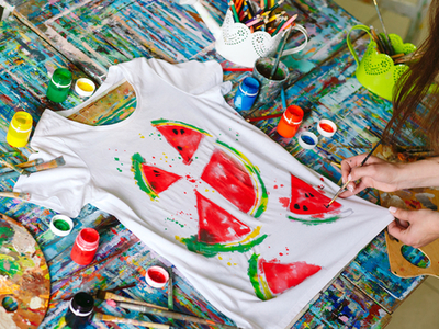 La pittura tshirt painting cool