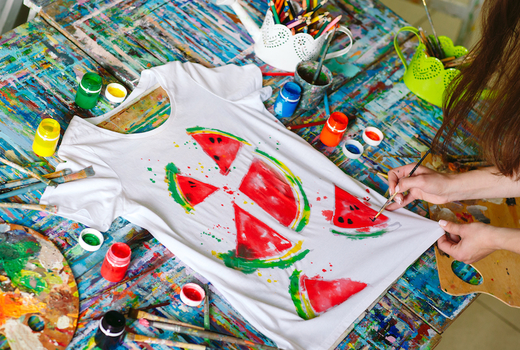La pittura tshirt painting cool
