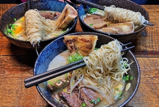 Shinka ramen bowls noodles