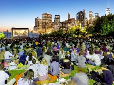 Brooklyn bridge park movies