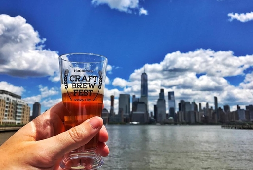 Jersey craft brew fest 2019 beer skyline