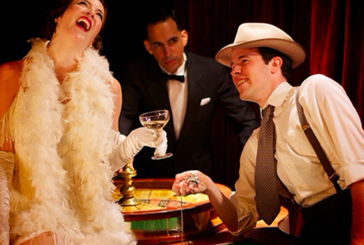 Big deal casino cheers friends laughing1