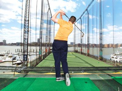 Golf club gent