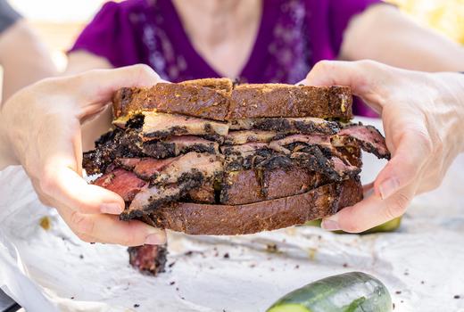 Pastrami on rye 2019 sandwhich eats love