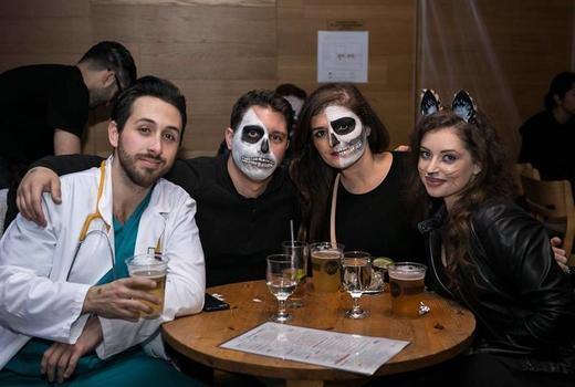 Kimoto halloween people fun drinks love