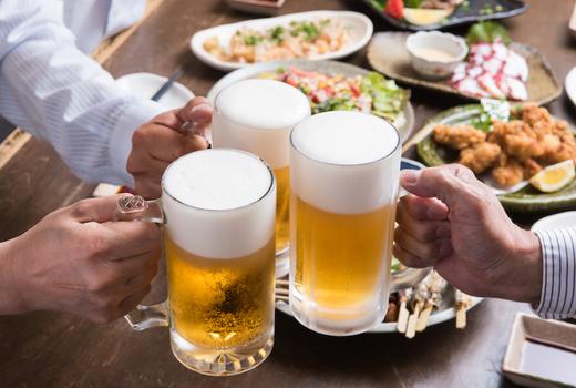 Rochard dinner beers cheers love