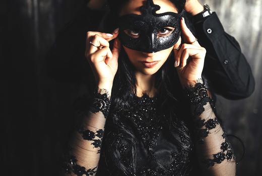 Refinery rooftop halloween mask dark