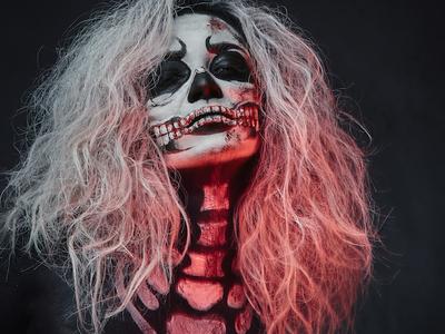 Halloween portraits sony