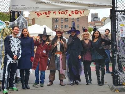 Scary bazaar halloween