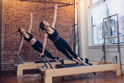 Gramercy pilates nyc women stretching tone