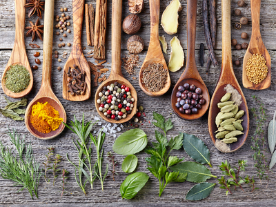 Spices two by twelve