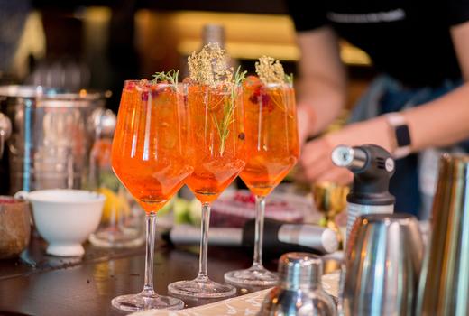 Tara rose brunch drinks spritz love