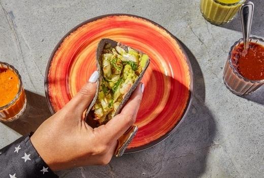 Tacovision taco hand
