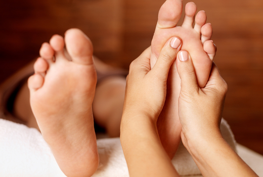 Lings beauty spa foot massage