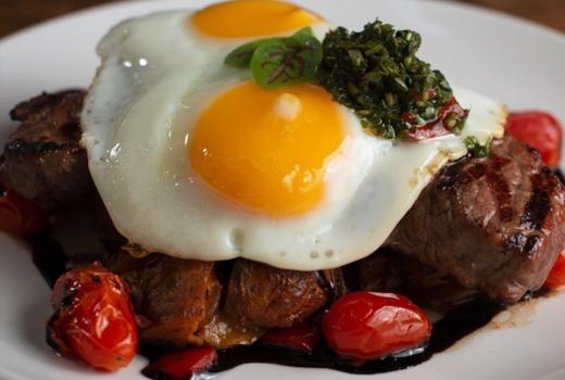 Jj kinahans steak eggs