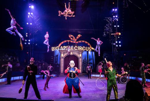 Big apple circus everyone come show