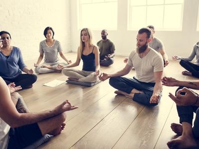 Sound meditation the big quiet