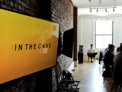 Caveday in the cave deep work