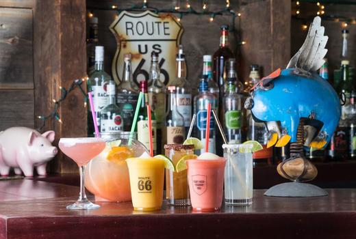 Route 66 super bowl cocktails